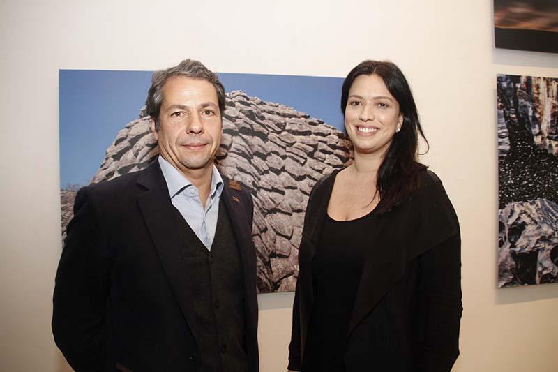 João Serrado e Graziela Martine