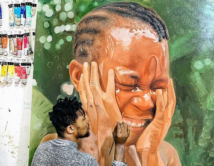 O Hiper-realismo de Ayogu Kingsley que você precisa conhecer