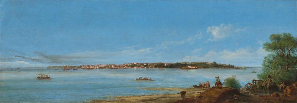 Obras do Brasil colonial. Panorama de São Luiz do Maranhão, Leone Righini (1863)