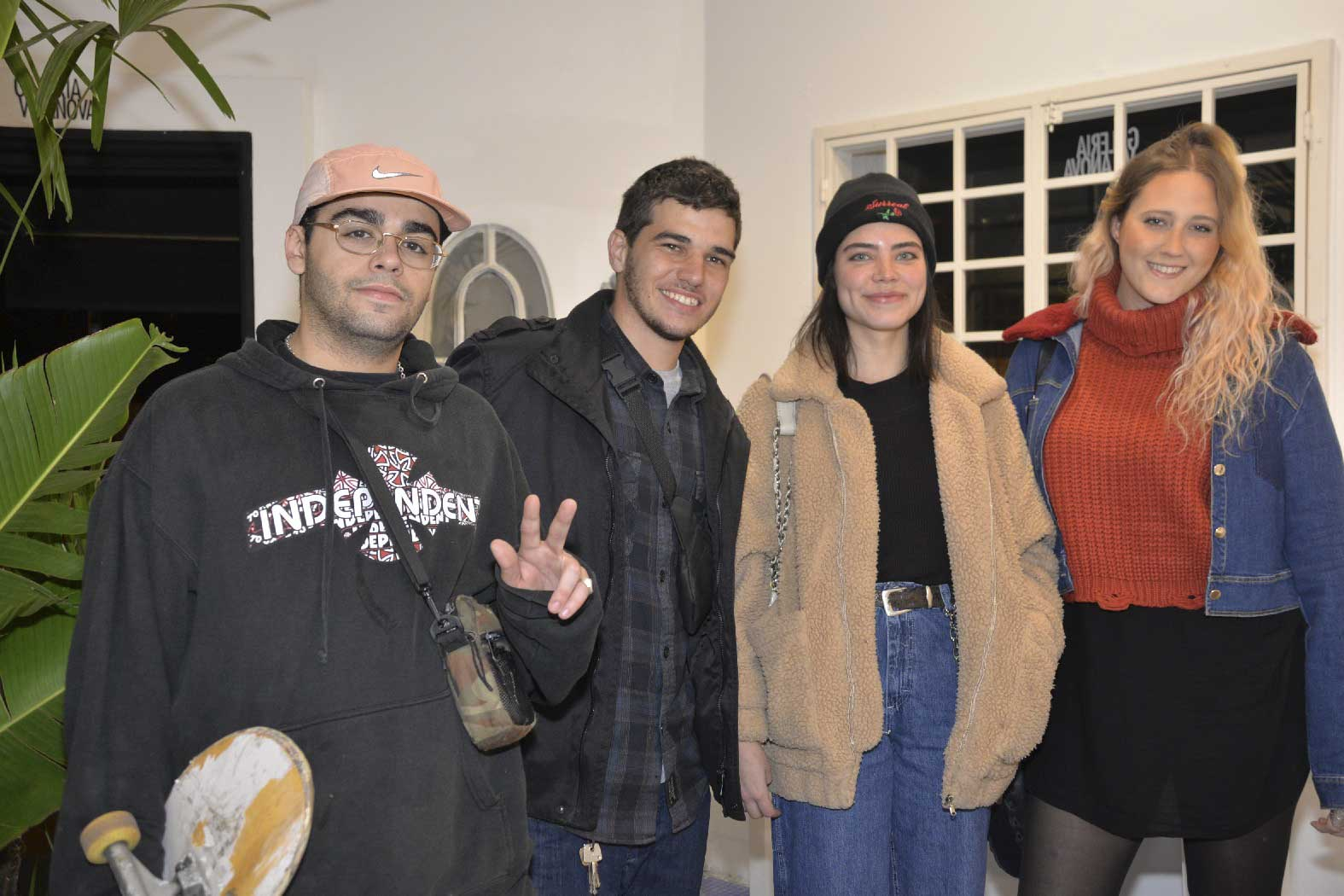 Diego Andrade, Victor Cardoso, Julia Andrade e Danielle Longobardi (2)