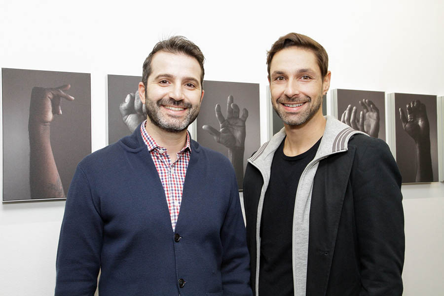 Douglas Milano e Frederico Guerreiro