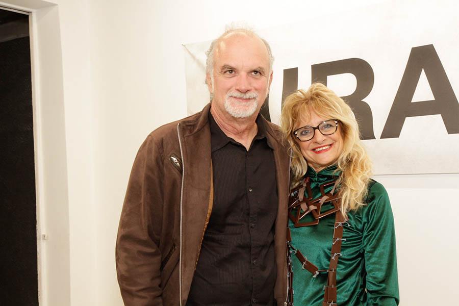 Edu Oliveira e Gina Elimelek