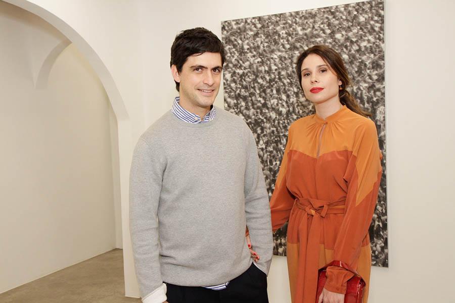Luiz Benine e Ligia Carvalhosa