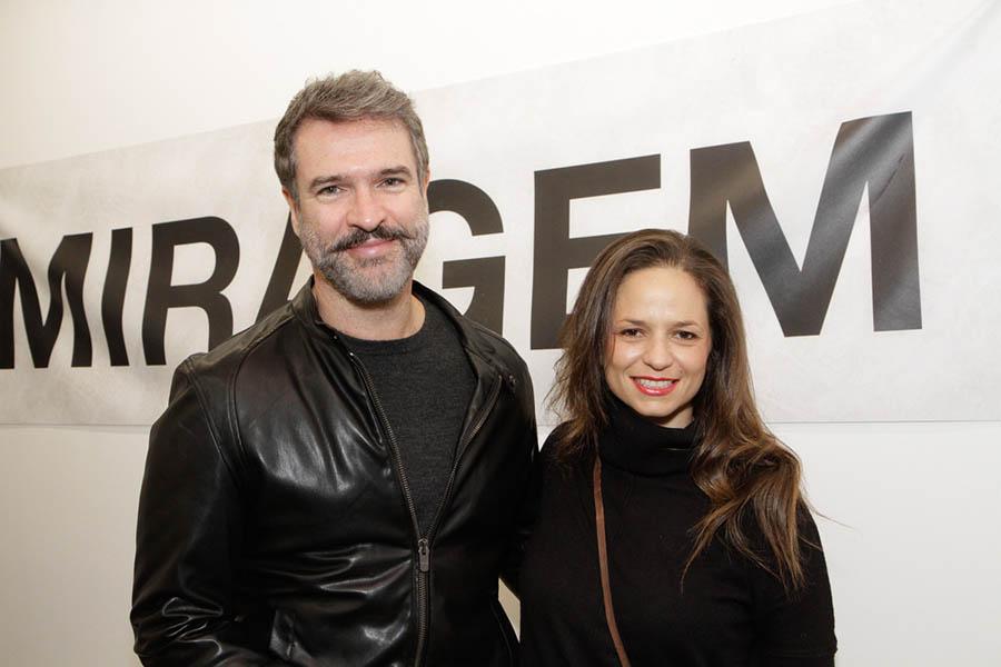 Milena Saraiva e Marcio Neves