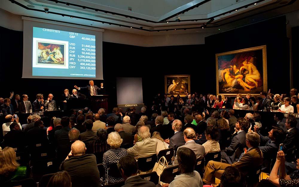 mercado primário e secundário de arte