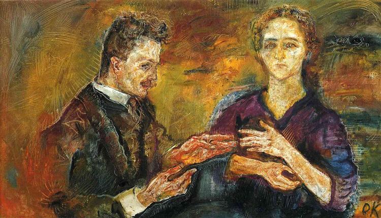 Expressionismo, Hans Tietze and Erica Tietze-Conrat (1909)