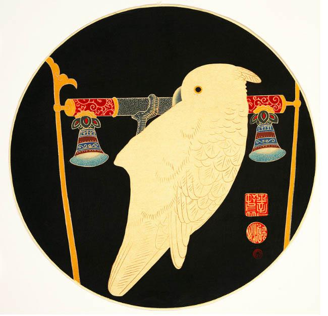 A White Mackaw: Itō Jakuchū