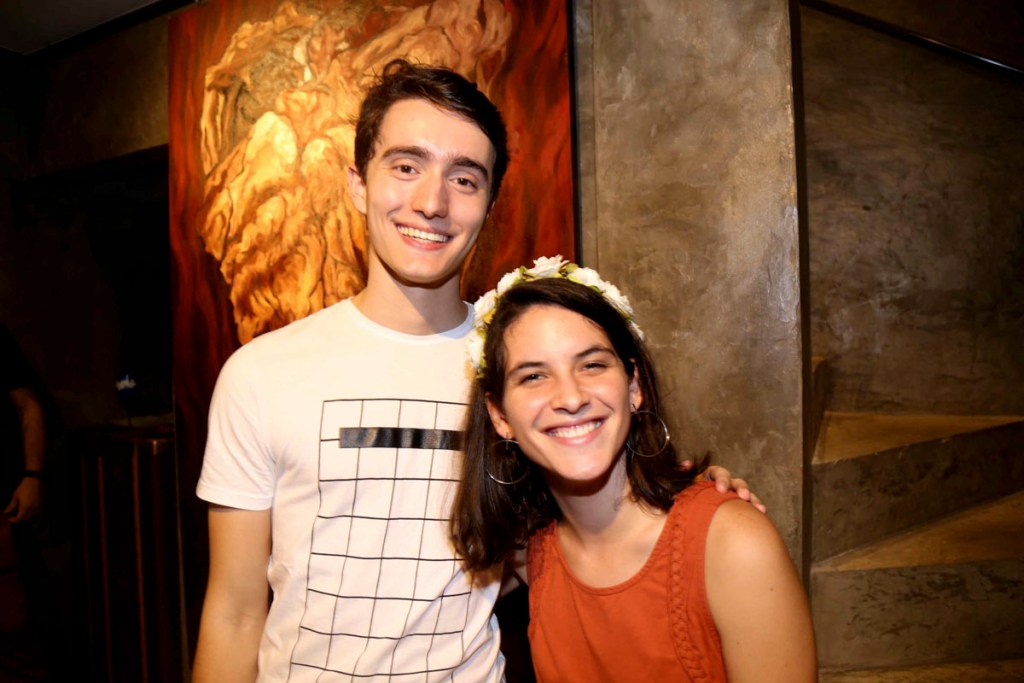 Joao Vitor Correa e Florence de Almeida