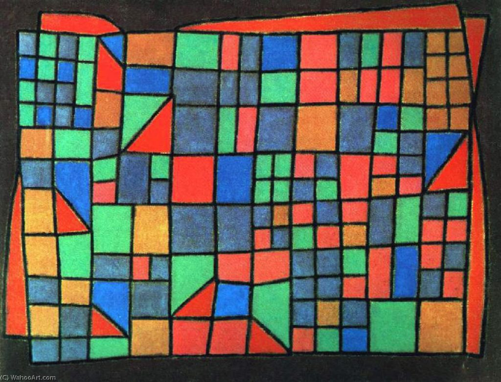 Paul_Klee-Glass Facade