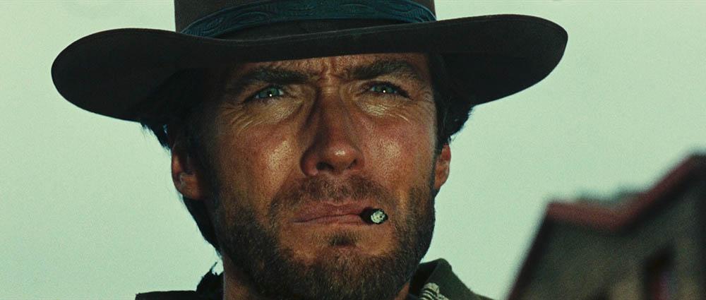 """Clint Eastwood em """"Por um punhado de dólares"""""""