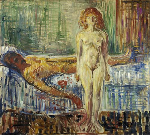 Edvard_Munch - The death of Marat