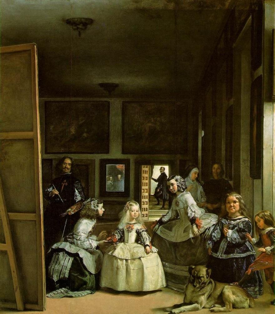 obras; las-meninas-de-diego-velázquez-painting