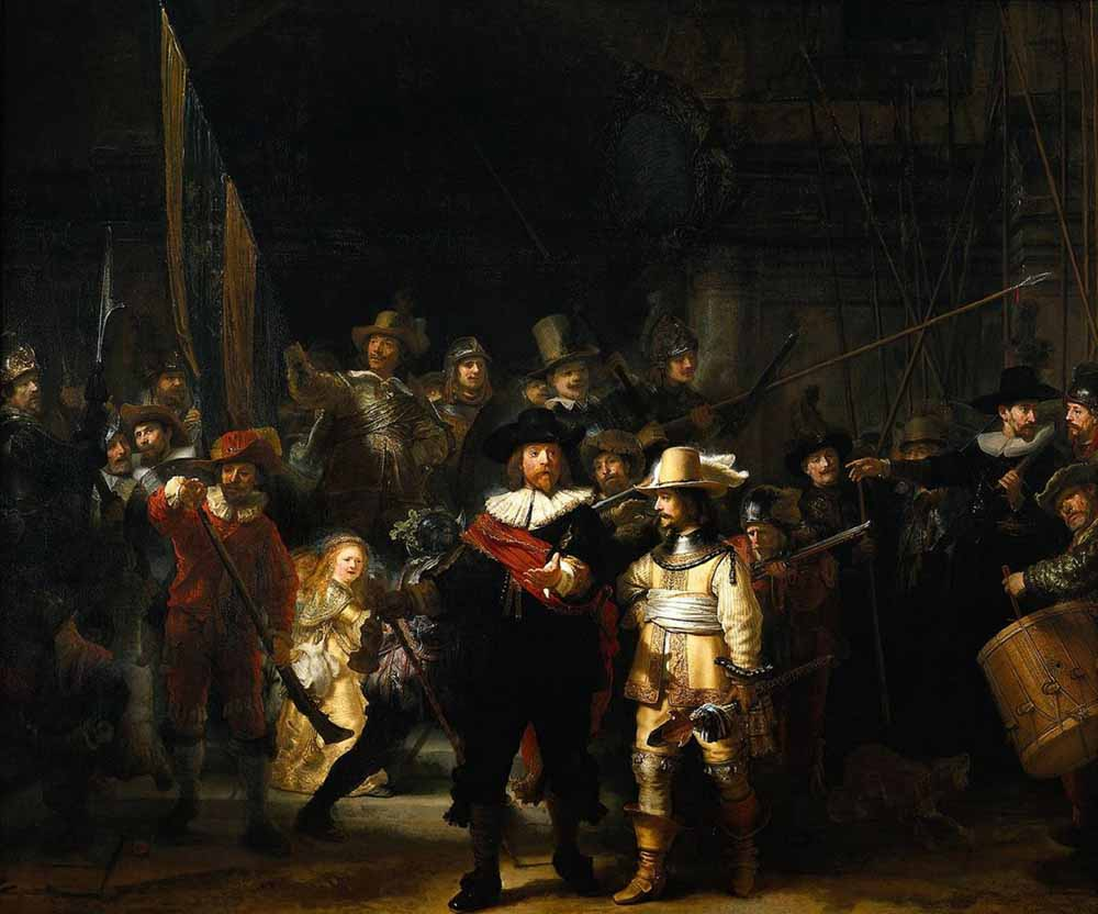 obras; night-watch-rembrandt