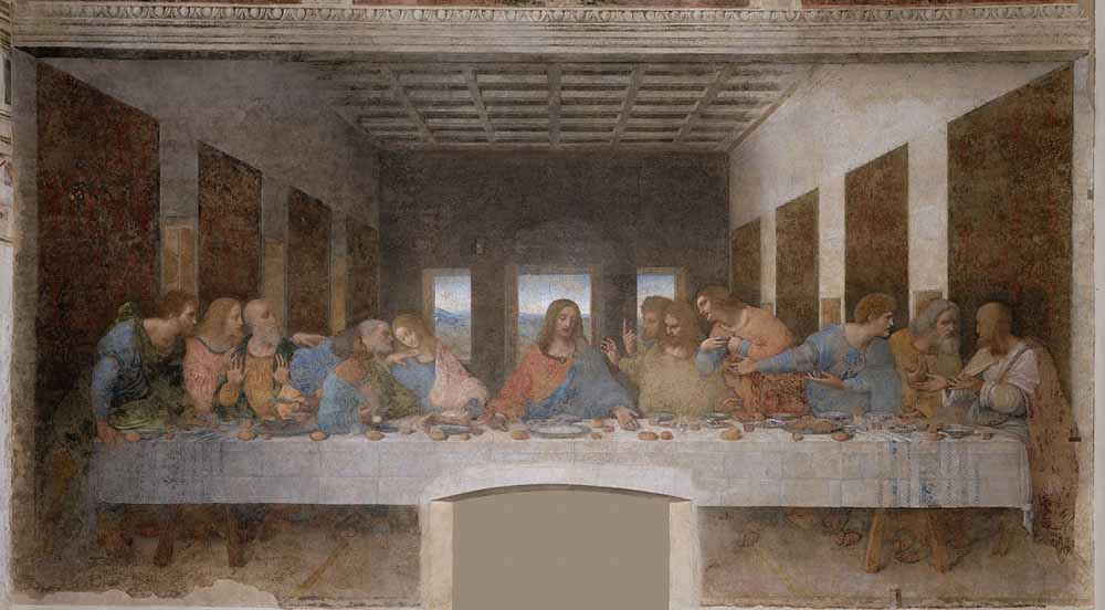 obras; the-last-supper-mary-magdalene-painting