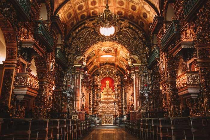 barroco brasileiro; Mosteiro de São Bento, Rio de Janeiro.