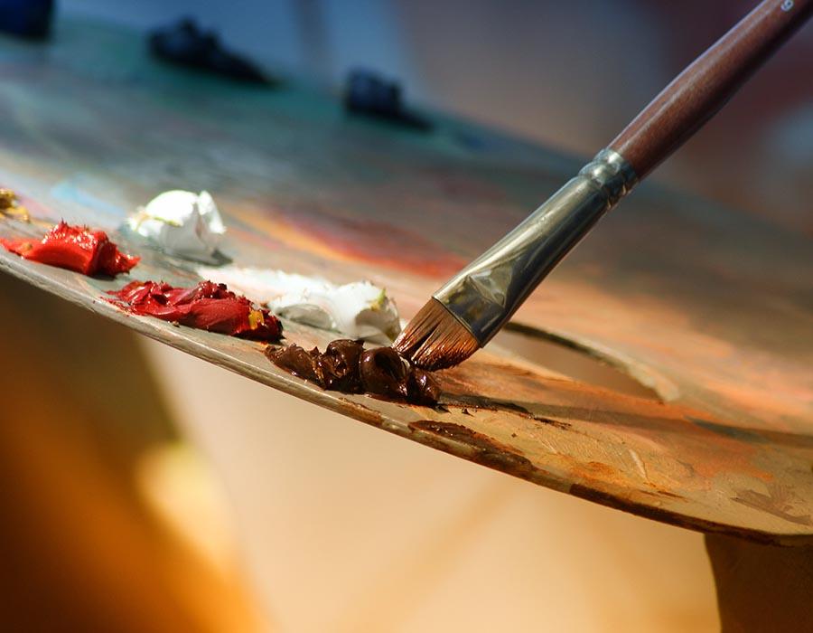 Como criar sua primeira pintura sem stress