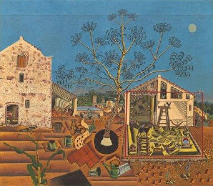 La Granja (1922); joan miró