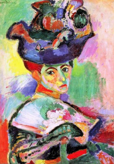 Mulher com Chapéu, 1905