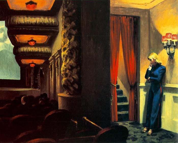 Edward Hopper - New York Movie (1939)