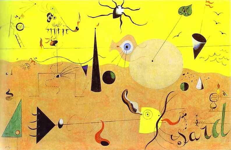 Paisagem Catalã (1924); Joan Miró