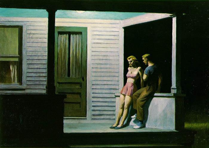 Edward Hopper - Summer Evening (1947)