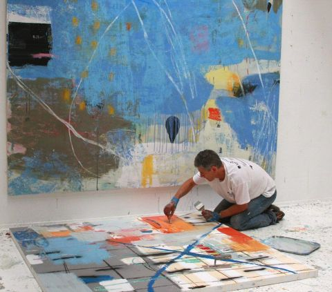 Nicholas Wilton; arte abstrata
