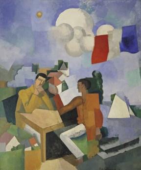 cubismo; Roger de la Fresnaye; A Conquista do Ar (1913)