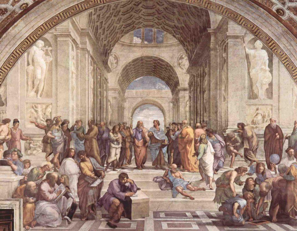 A Escola de Atenas de Rafael