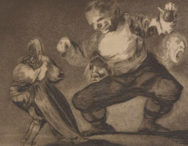 Gravura de Goya