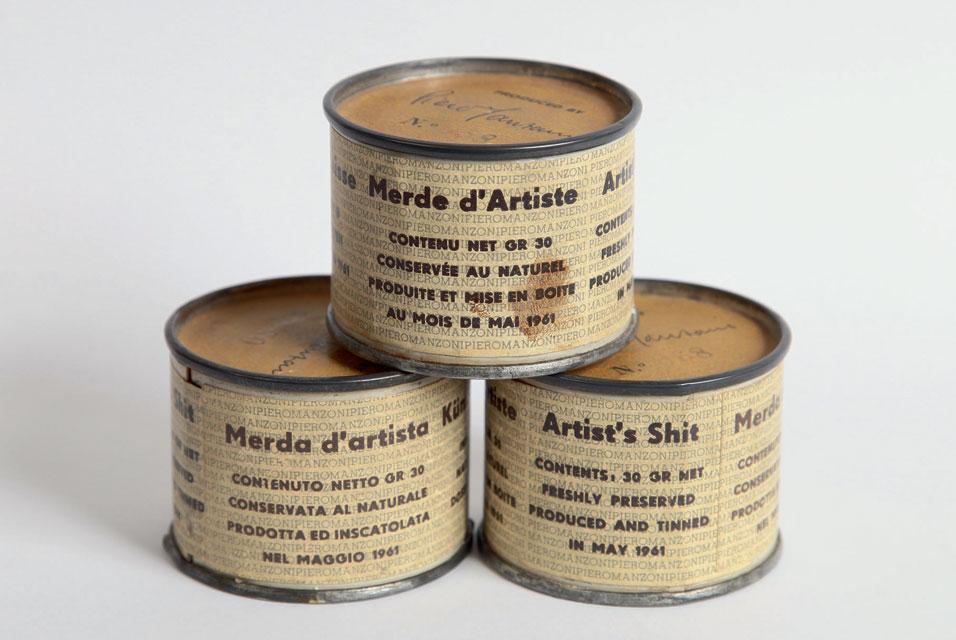 arte conceitual; Merda de Artista (1961)