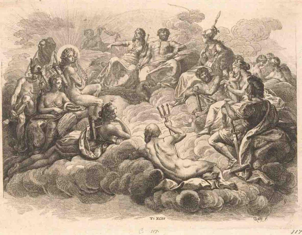 Nikolaus Deuses do Olimpo, 1774
