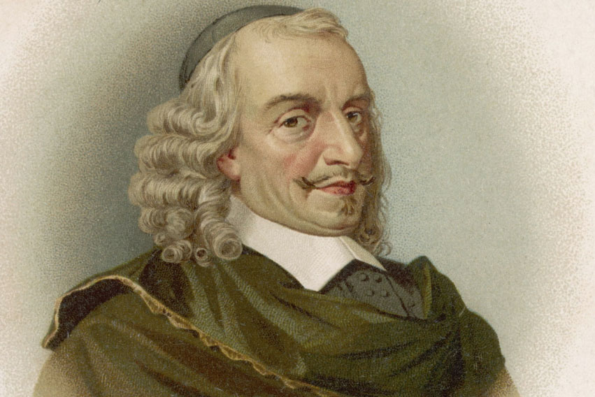 Retrato de Pierre Corneille