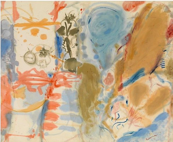 expressionismo abstrato; Western Dream,1957