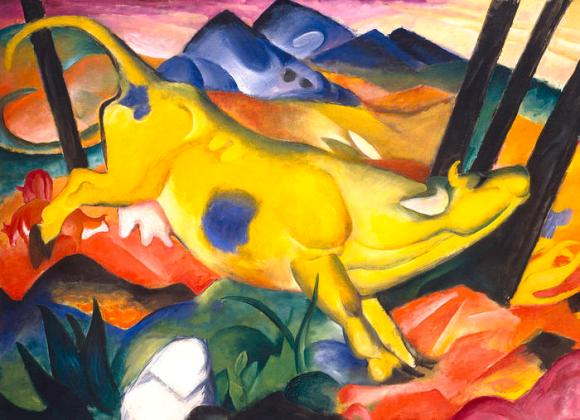 Franz Marc - Yellow Cow (1911)