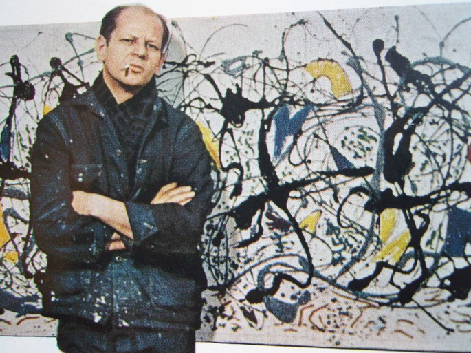 Jackson Pollock: um dos nomes do Expressionismo Abstrato