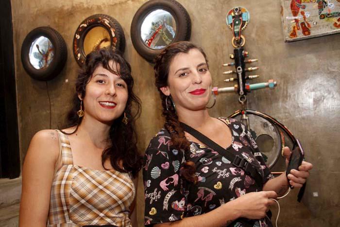 Galeria Zero; Carina Bueno e Maria Ribeiro