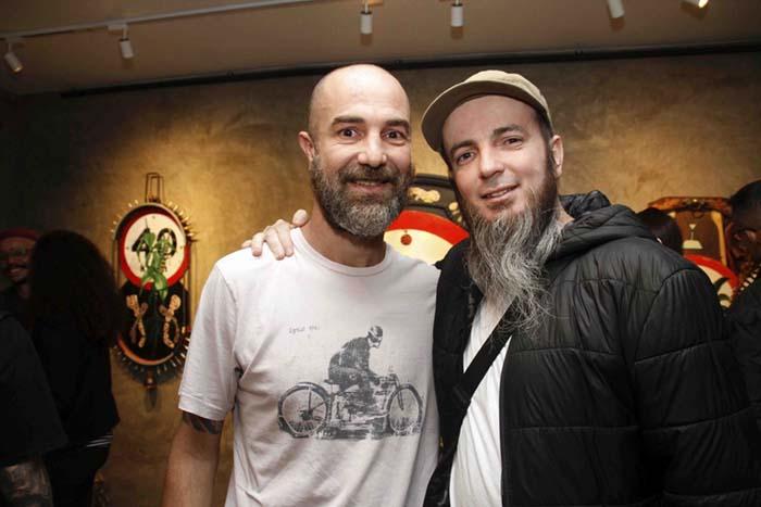 Galeria Zero; Diego Santovito e Nem