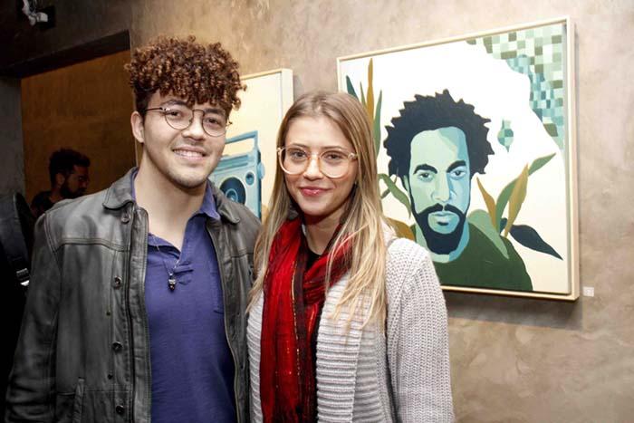 Murillo Boni Vitti e Natacha Dias