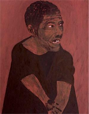 Moacir, 2012 _ 2016 óleo sobre tela (120 x 90 cm)