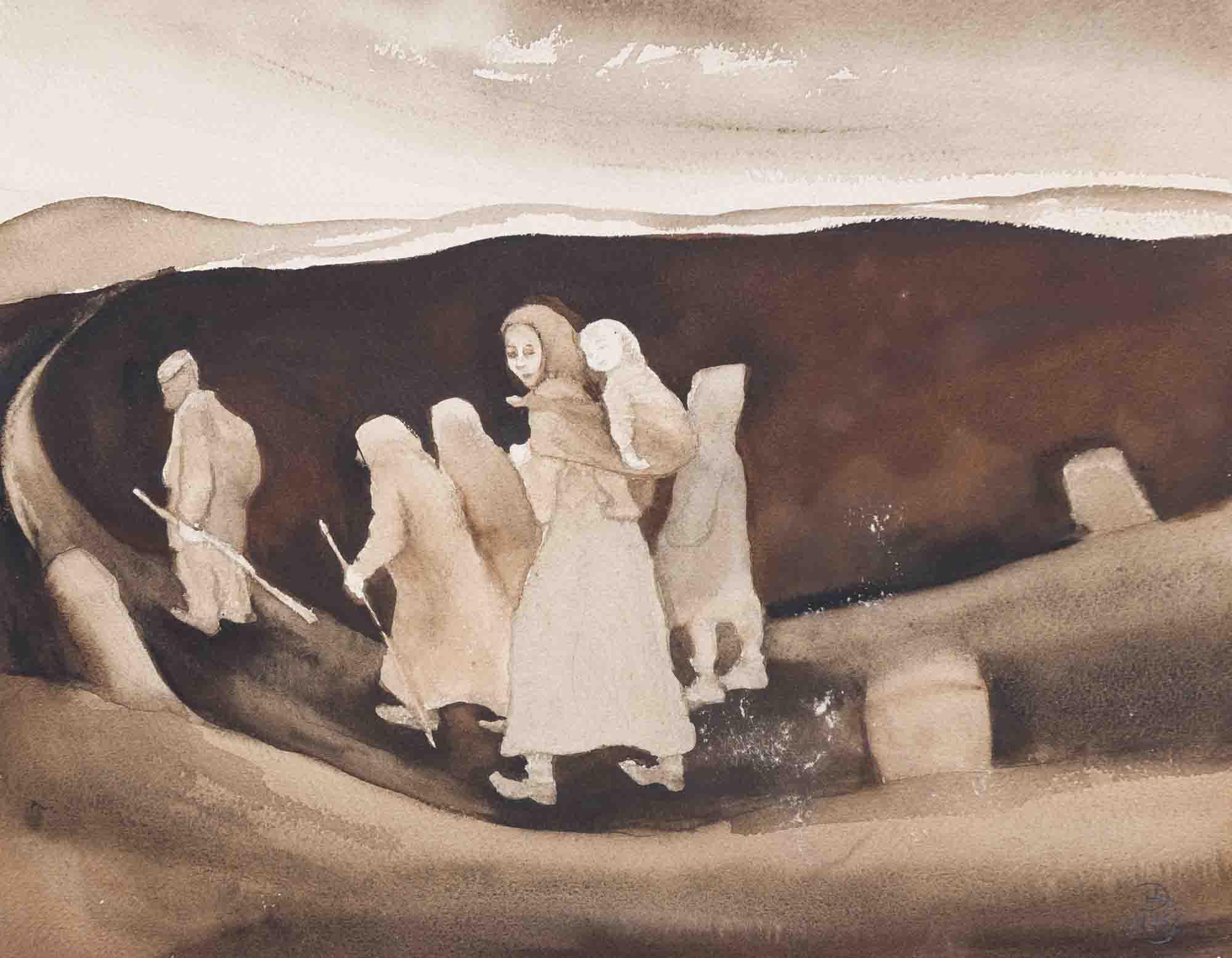 """Inn Gallery recebe """"A Pintura da Condição Humana"""", obra histórica de Doris Homann"""