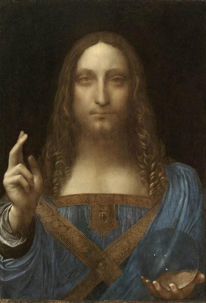 Leonardo Da Vinci. Salvator Mundi (1490–1500)