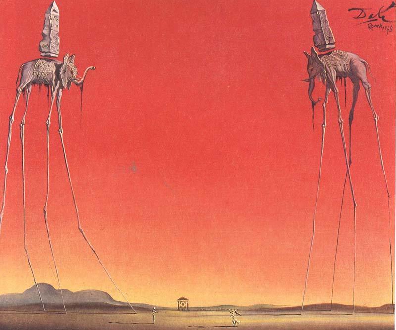 Salvador Dali - the elephant
