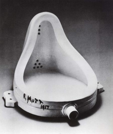 Marcel Duchamp. A Fonte (1917)