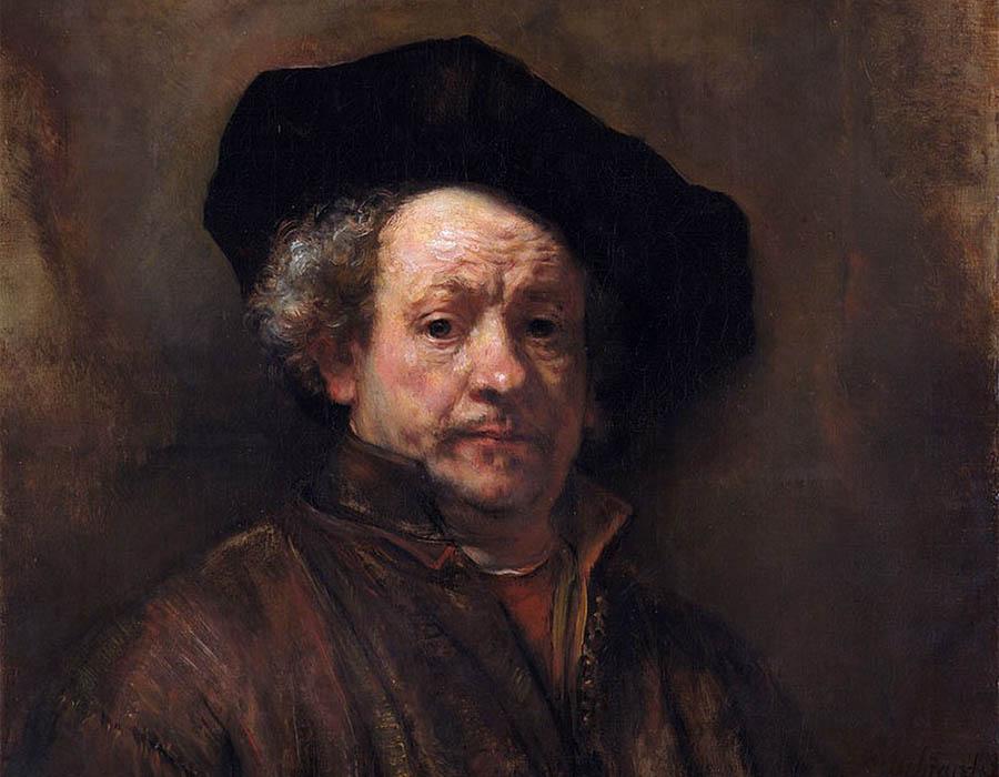 Rembrandt. Autorretrato, 1660. 80 x 67 cm | MoMA; o que é arte