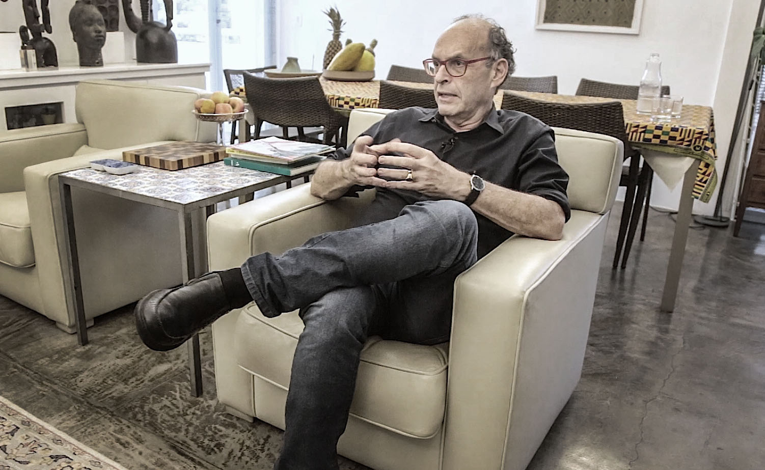 Sérgio Fingermann, o espectador do seu próprio tempo