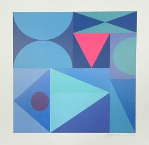 Blue Composition 2019