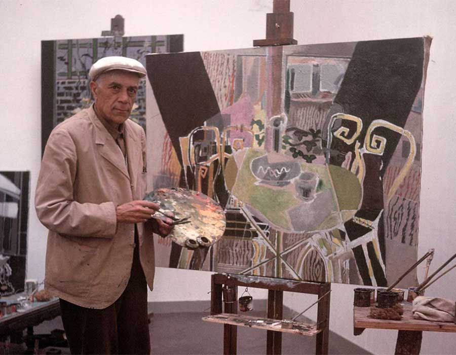 Georges Braque: da criação do Cubismo à Arte pós-guerra