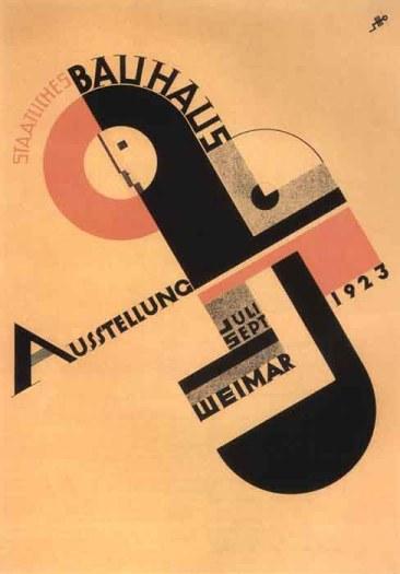 Poster Bauhaus (1923)