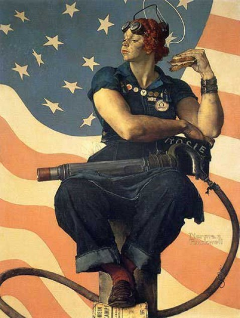 Rosie-the-Riveter-1943-Norman-Rockwell