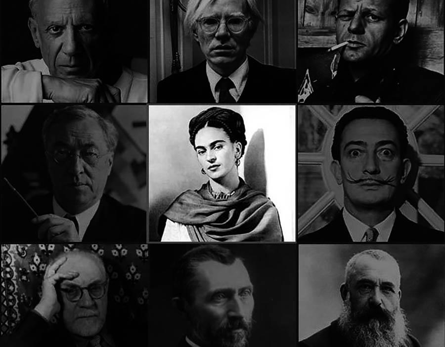 A participação das mulheres na história da arte